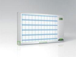 Plánovací tabule Performance Plus, roční, smaltovaný povrch, 60x110cm, NOBO