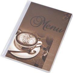 Desky na jídelní lístek Coffee, motiv káva, A5, PANTA PLAST