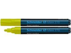 Permanentní lakový popisovač Maxx 270, žlutá, 1-3mm, SCHNEIDER