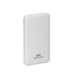 Přenosná nabíječka powerbank VA2010, bílá, 2 ks, USB, 10000 mAh, RIVACASE