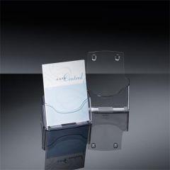 Stojan na letáky/prospekty, transparentní, stolní, A5, SIGEL