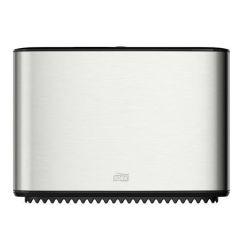 Zásobník toaletního papíru Mini jumbo, nerez-černá,T2 system, TORK