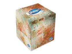 Kapesníky, papírové, v krabici, 3vrstvé, 54 ks, Ooops! ,balení 54 ks