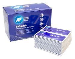 Čisticí ubrousky Safepads, s izopropylalkoholem, 138x210 mm, 100 ks, AF ,balení 100 ks