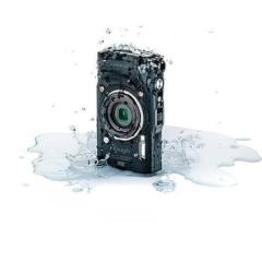 Fotoaparát TG-6, černá, 4K, Wi-Fi, vodotěsný, OLYMPUS