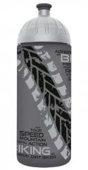 FreeWater láhev 0,7l Biker antracitová-stříbrná, FREEWATER