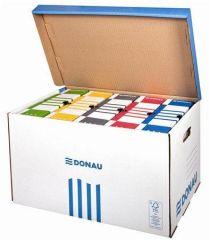 Archivační kontejner, modrá, vrchní otvírání, DONAU