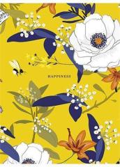 Sešit Happiness, mix motivů, čtverečkovaný, A5, 48 listů, SHKOLYARYK