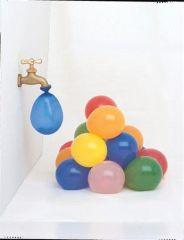 Balónky na vodní bomby, mix barev ,balení 100 ks