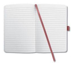 Poznámkový blok Jolie, černo bílé listy, linkovaný, 174 listů, 95x150 mm, SIGEL