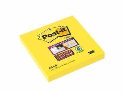 Samolepicí bloček Super Sticky, žlutý, 76x76 mm, 90 listů, 3M POSTIT  ,balení 90 ks