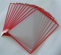 Prezentační kapsa, červená, A3, PP, TARIFOLD ,balení 10 ks