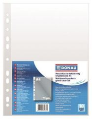 Euroobal A4, 75 micron, lesklé, 10ks, DONAU ,balení 10 ks