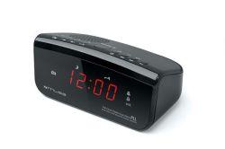 Rádio s hodinami M-12CR, černá, MUSE