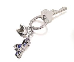 Klíčenka Key crusing, 2 přívěsky, se SWAROVSKI® elements, TROIKA