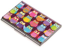 Vizitkář Owl, kov, pro 11 ks, TROIKA