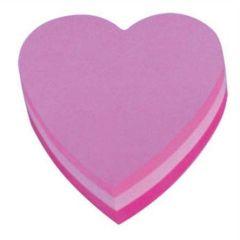 Samolepicí bloček ve tvaru srdce, 225 listů, 3M POSTIT ,balení 225 ks