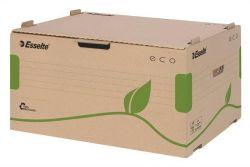 Archivační krabice Eco, přírodní hnědá, s předním otevíráním, ESSELTE