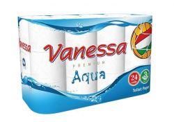 Toaletní papír, 3vrstvý, 24 rolí, Vanessa ,balení 24 ks