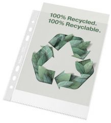 Euroobaly Recycled, čirá, A5, 70 mikronů, pomerančový povrch, ESSELTE ,balení 100 ks