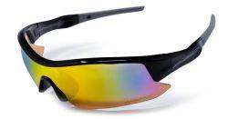 Sluneční brýle Shield, černá, polarizační, AVATAR