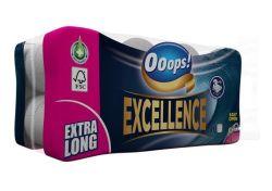 Toaletní papír Ooops! Excellence , 3vrstvý, 16 rolí ,balení 16 ks
