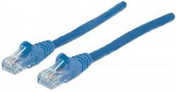Síťový kabel, UTP patch, modrá, Cat6, 0,5 m, INTELLINET
