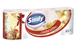 Toaletní papír, 3vrstvý, 8+2 role,  Sindy, aloe vera ,balení 10 ks