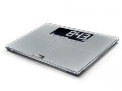 Osobní váha Shape Sense Profi 300,stříbrná, bezpečnostní sklo, SOEHNLE