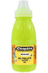 Třpytivý gel 250 ml NEON Žlutá, CLEOPATRE