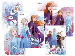 Pohlednice dětské Frozen 2 - mix motivů