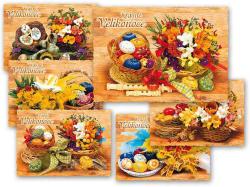 Velikonoční pohlednice - mix motivů