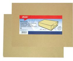 Balicí papír hnědý - archy 0,7 m x 1 m / 4 ks