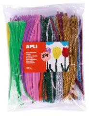 Modelovací drátky APLI Jumbo / mix barev / 360 ks
