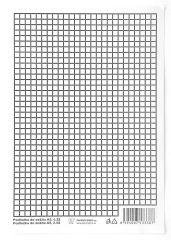 Podložky do sešitů papírové + PVC - podložka A4 / linka - čtvereček / papírová