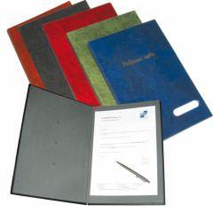 Kniha podpisová Hanibal - imitace kůže / modrá