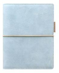 Diář Filofax Domino Soft - kapesní / 81 x 120 mm / pastelová modrá