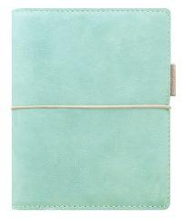 Diář Filofax Domino Soft - kapesní / 81 x 120 mm / pastelová zelená