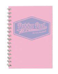 Blok kroužkový Pukka Pad Pastel - A5 / linka / mix barev