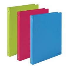 Kroužkové záznamníky Karis PVC Office - A5 / pastelová modrá