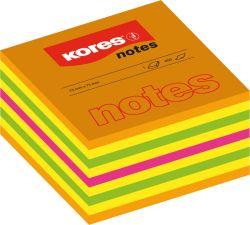 Samolepicí bloček Kores Cubo - 75 x 75 mm / 450 lístků