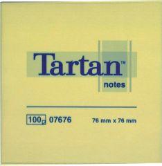Samolepicí bločky Tartan -  76 x 76 mm / 100 lístků