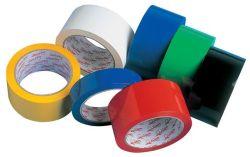 Balicí pásky barevné - 15 mm x 10 m / červená
