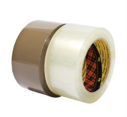 Balicí pásky NEHLUČNÉ - 48 mm x 66 m / hnědá