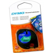 Pásky Letratag - 12 mm x 4 m / plastová / modrá