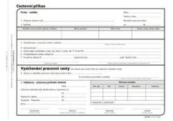 Cestovní příkaz Optys - A5 / 100 listů / 1051