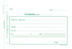 Stvrzenka Optys - A6 / NCR 100 listů / 1080