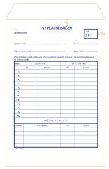 MSK 210 výplatní sáčky výplatní sáček