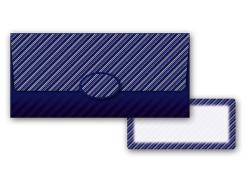 Obálka na peníze pro pány / modrá