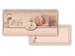 Obálka na peníze narození dítěte